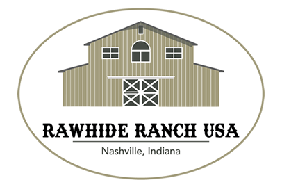 Rawhide Ranch Nashville, IN Logo